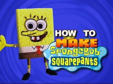 how to fix bob how to make spongebob squarepants transcript