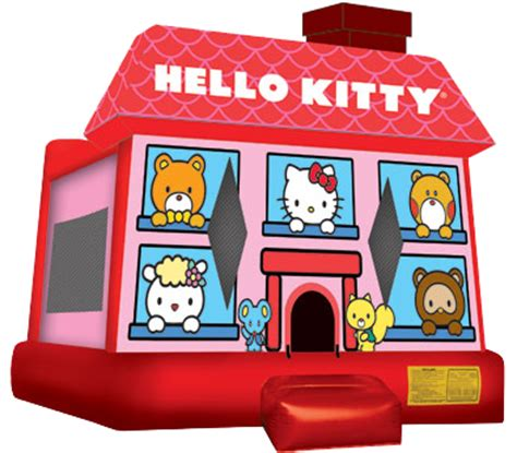 bounce house kansas city hello kitty bounce house rental kansas city mo