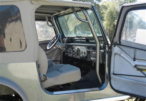 cj upholstery jeep cj 7 interior cage front bumper and nerf bars