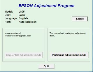 adjustment program resetter l220 epson l220 reset or epson adjustment program step by step