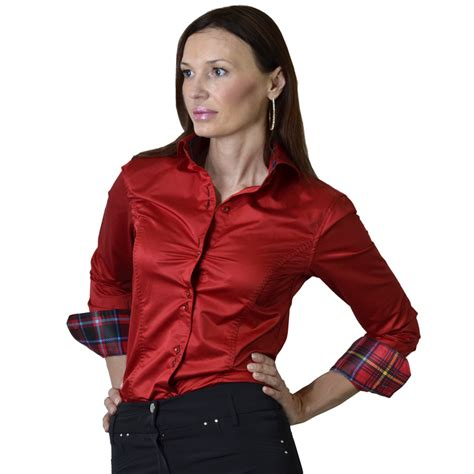 womens dress shirts bacciano anna shirt and tieshirt and tie