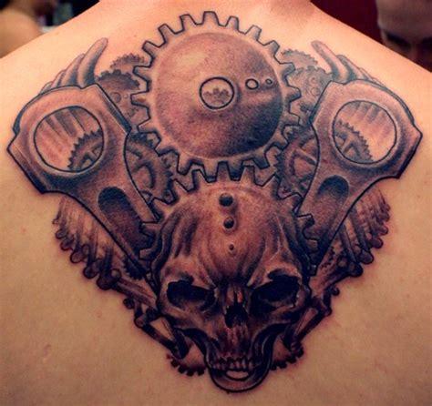 gearhead tattoos gearhead by tim pangburn tattoonow