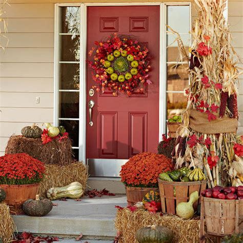 how to decorate your home for fall 10 entryway ideas that celebrate fall in style