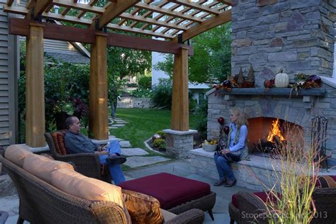 fireplace in backyard a few handy modern backyard design tips interior design