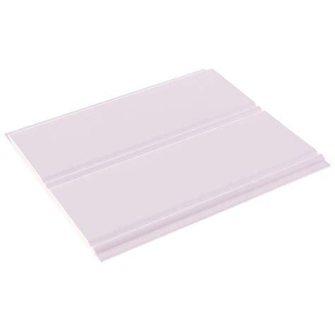 Vinyl Ceiling Planks 4 Pk Plastibec Pvc Vinyl Beadboard Planks 188 T X 4 188 W White