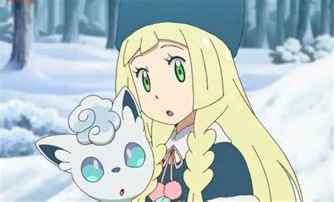 episode  lillie shiron pokemon characters pokemon