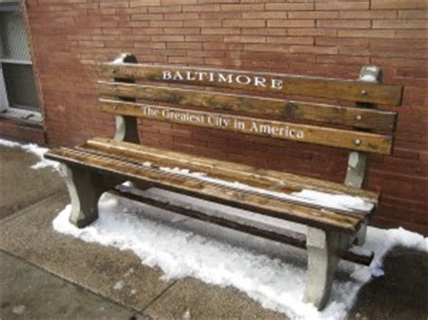 park bench baltimore the last word on nothing mapping baltimore s addiction