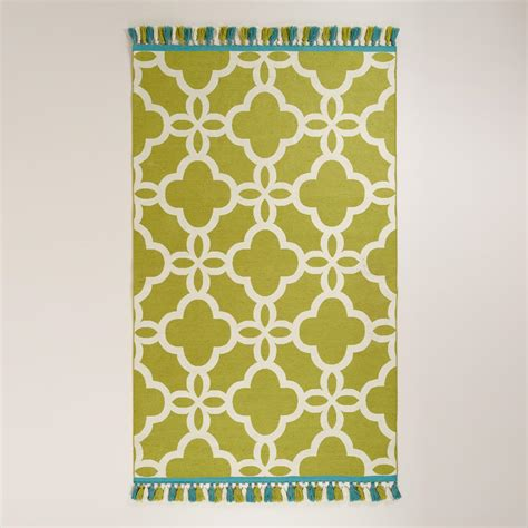 World Market Outdoor Rugs Lattice Indoor Outdoor Rugs With Tassels World Market