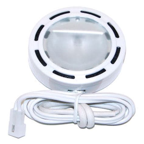 westek 00452 white halogen accent light for cabinet