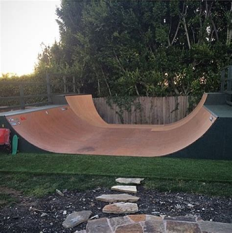 triyae backyard half pipe blueprints various