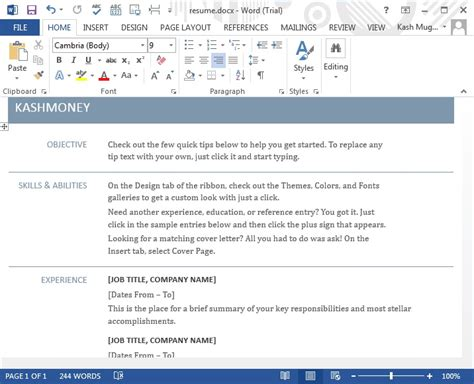 Tutorial Word 2013 | microsoft word 2013 tutorial ms office 2013 training