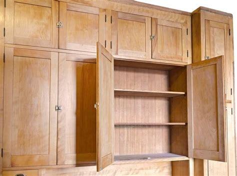 1920 kitchen cabinets pristine 1920s maple kitchen cabinet with original brass hardware at 1stdibs