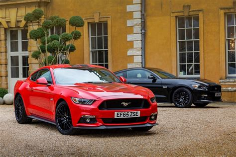 ford mustang gt uk ford mustang leads uk high performance car sales