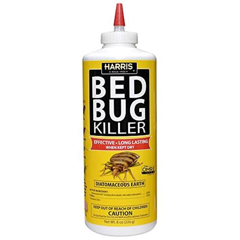 harris bed bug powder galleon harris diatomaceous earth bed bug powder 8oz