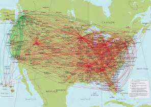 United Airlines Hubs by United Urban In Fill