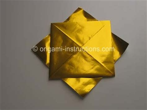 Origami Sunflower Step By Step - easy origami sunflower folding how to make