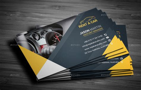 Rent A Car Business Card Template Free by Rent A Car Business Card By Vejakakstudio Graphicriver