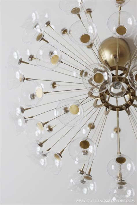 diy sputnik chandelier creating a meaningful home dwellings by devore