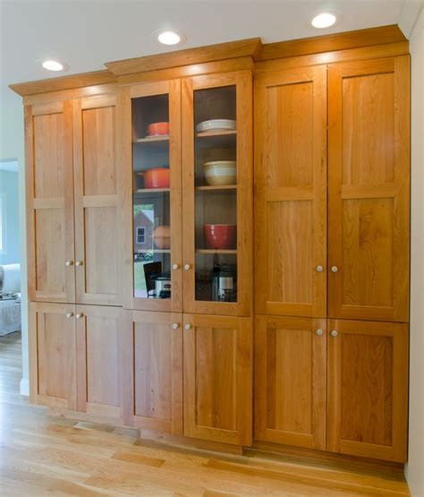 Large Cabinet Pantry Kitchen Pantry Large Pantry Cabinet In Cherry