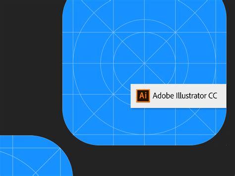 Ios11 Icon Template Adobe Illustrator By Oscar Cortez Dribbble Dribbble App Icon Template Illustrator