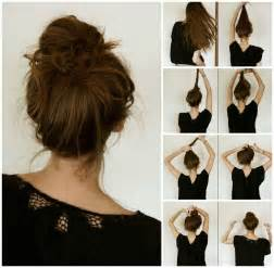 step by step womens hair cuts easy step by step hairstyles do by own at any time