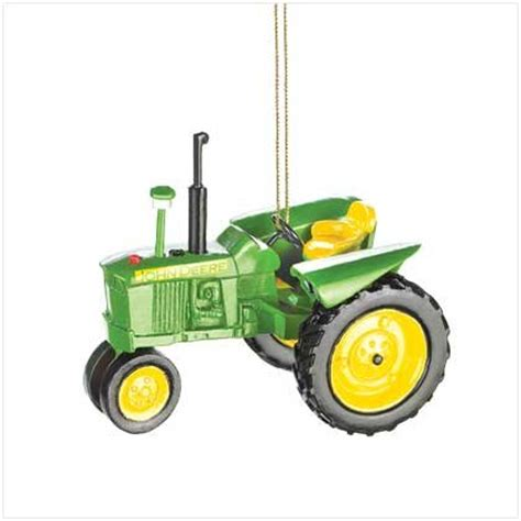 brand new john deere tractor christmas ornament