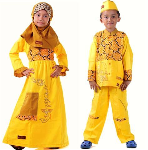 Baju Anak Kuning mukena seragam ibu anak toko bunda