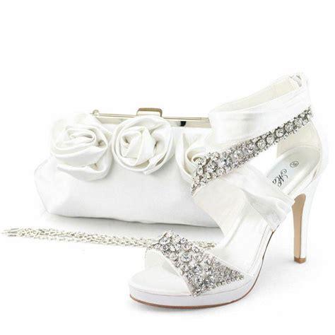 satin dresses wedding bridal shoes 2059013 weddbook