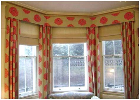 bay window curtain designs box valance for bay windows living room specs price