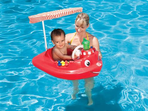 baby boat float swimways baby tug boat for pool 54 99 from 79 99