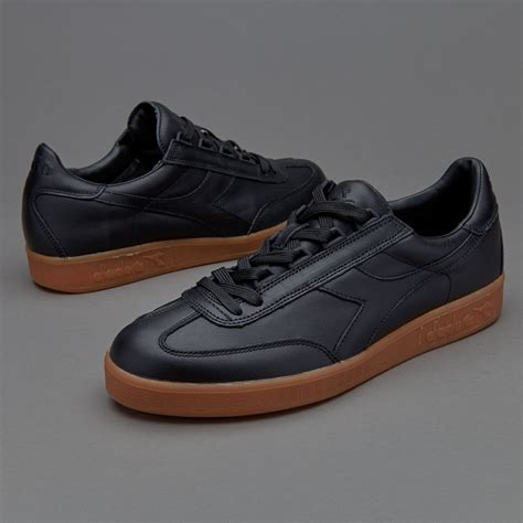 Original Diadora Dante Black Grey mens shoes diadora b original premium black shoes 127225 cheap shoes www balerdipension
