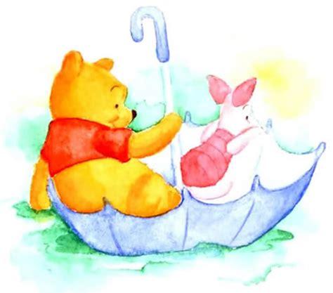 imagenes de winnie pooh y puerquito hermosa pintura de winnie pooh y puerquito sentados
