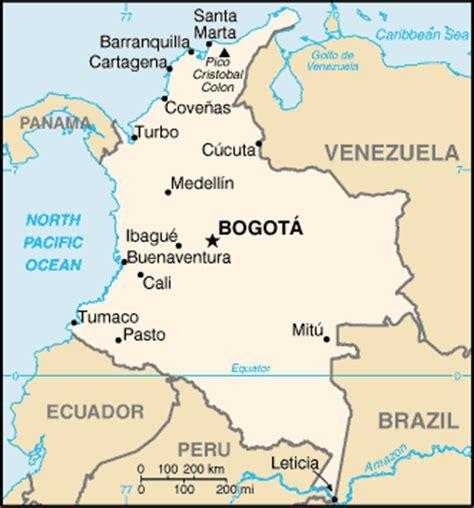 maps of bogota