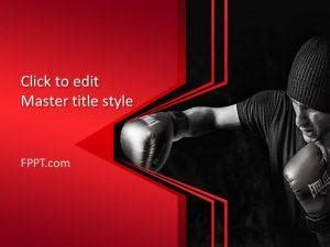 Sports Powerpoint Templates Boxing Templates Free