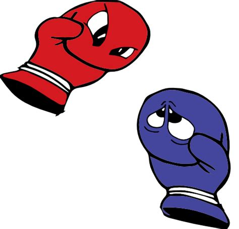 boxing clipart boxing gloves hitting clip www imgkid the