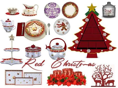 sims 3 christmas decor cc dining by pilar at tsr 187 sims 4 updates