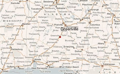 where is greenville alabama on the map greenville alabama location guide