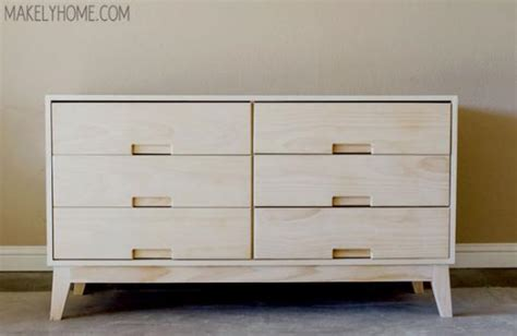 Modern Dresser Plans by Free Diy Furniture Plans How To Build A Steppe 6 Drawer