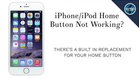 iphone home button  working heres  alternative