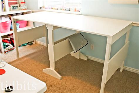 folding cutting table plans folding craft table plans sewing room ideas