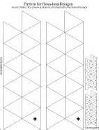 hexaflexagon template printable blank flexagon templates printables calendar template 2016