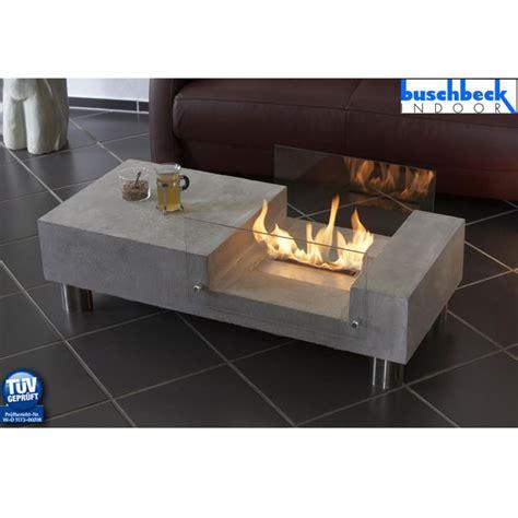 tisch mit feuerstelle feuerstelle quot tisch lounge quot buschbeck 90033 000