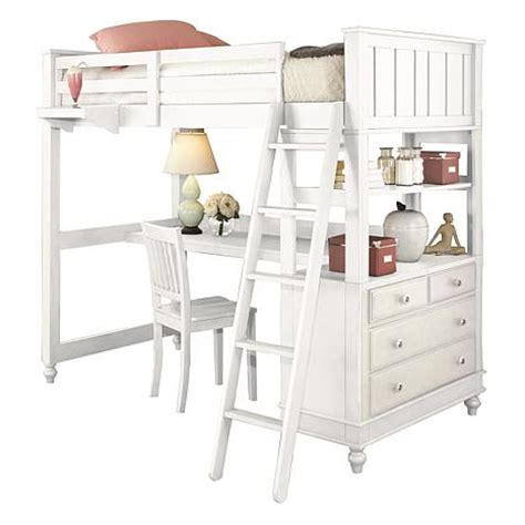 Furniture Lakes by Hillsdale Furniture Lake House Loft Bed With Desk