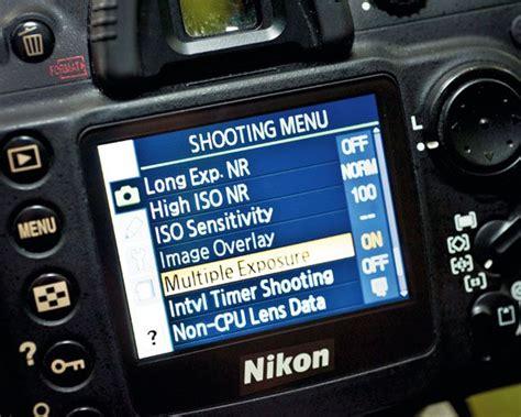 double exposure dslr tutorial make a multiple exposure in camera on your nikon dslr