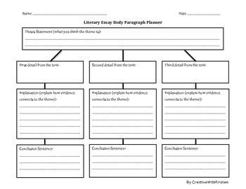 Literary Analysis Essay Graphic Organizer by The 25 Best Literary Essay Ideas On Literary Writing Math Essay And Argumentative