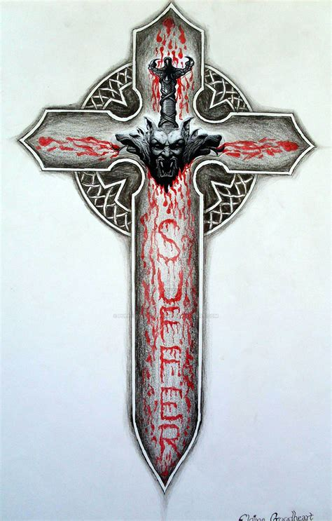 gothic vampire cross by puppyboyskittygirl on deviantart