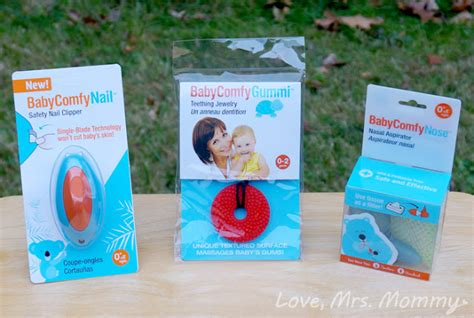 Baby Comfy Care Nail mrs baby comfy care s essential baby shower pack review