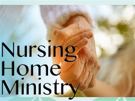 nursing home ministry 187 st paul lutheran church