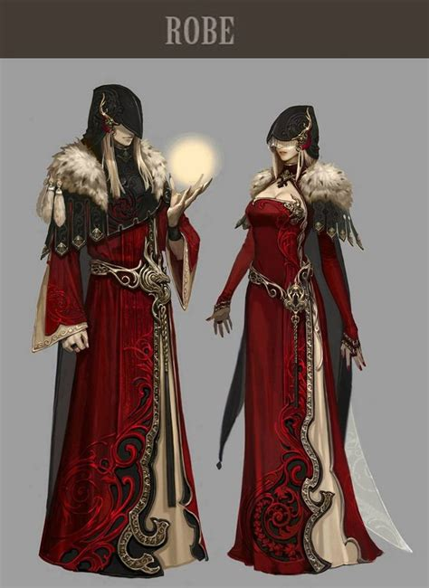 artist costume pattern aion 4 0 concept art costuming character design