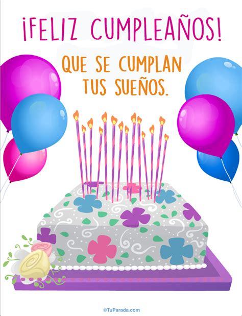 imagenes de feliz cumpleaños rosy cumplea 241 os con torta im 225 genes de cumplea 241 os tarjetas